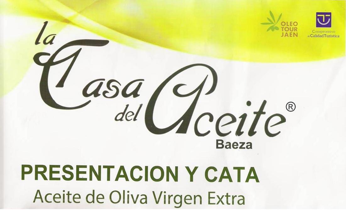 Cata – Presentación en La Casa del Aceite en Baeza
