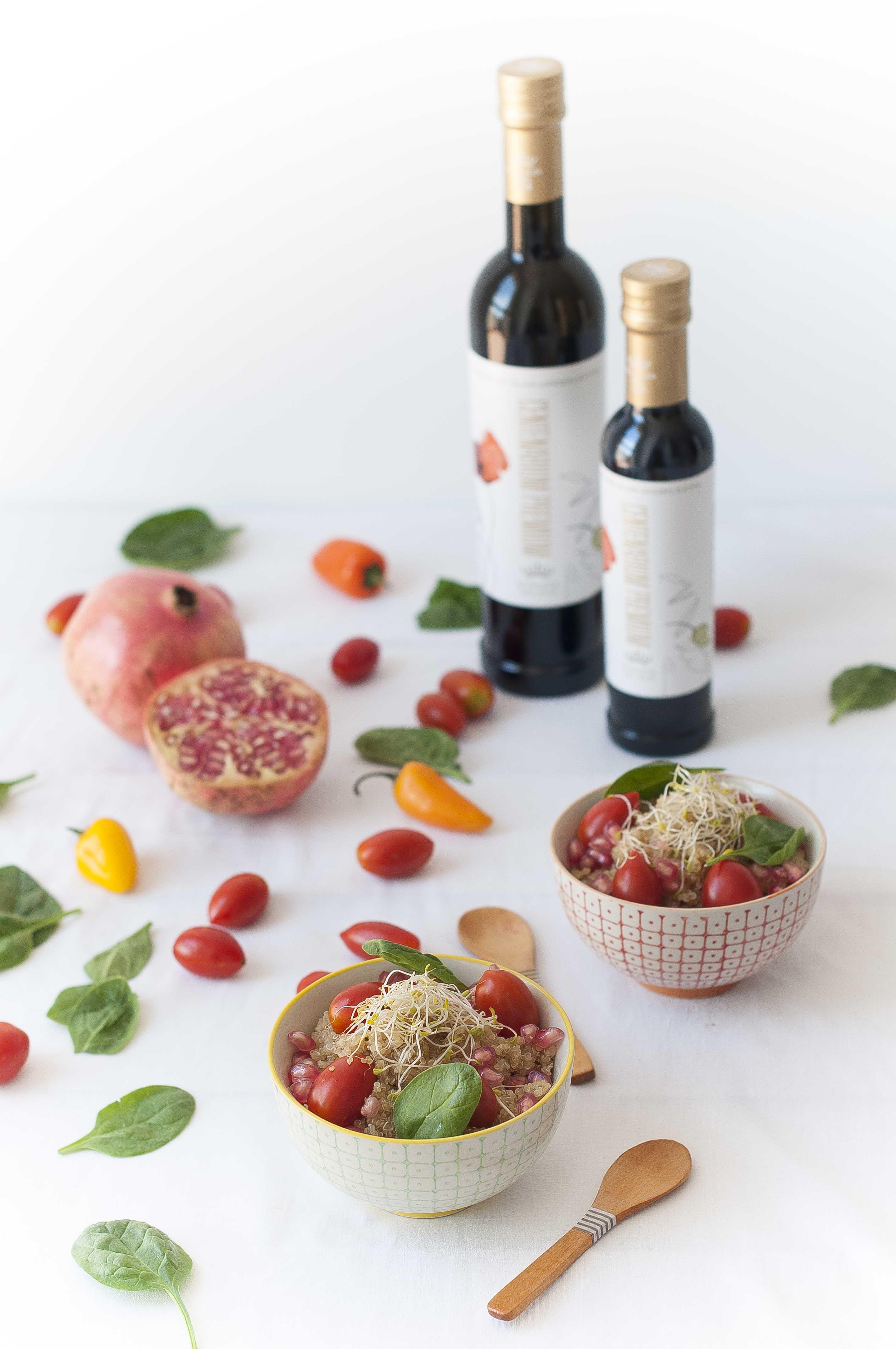 Ensalada Otoñal de Quinoa y AOVE Nobleza del Sur