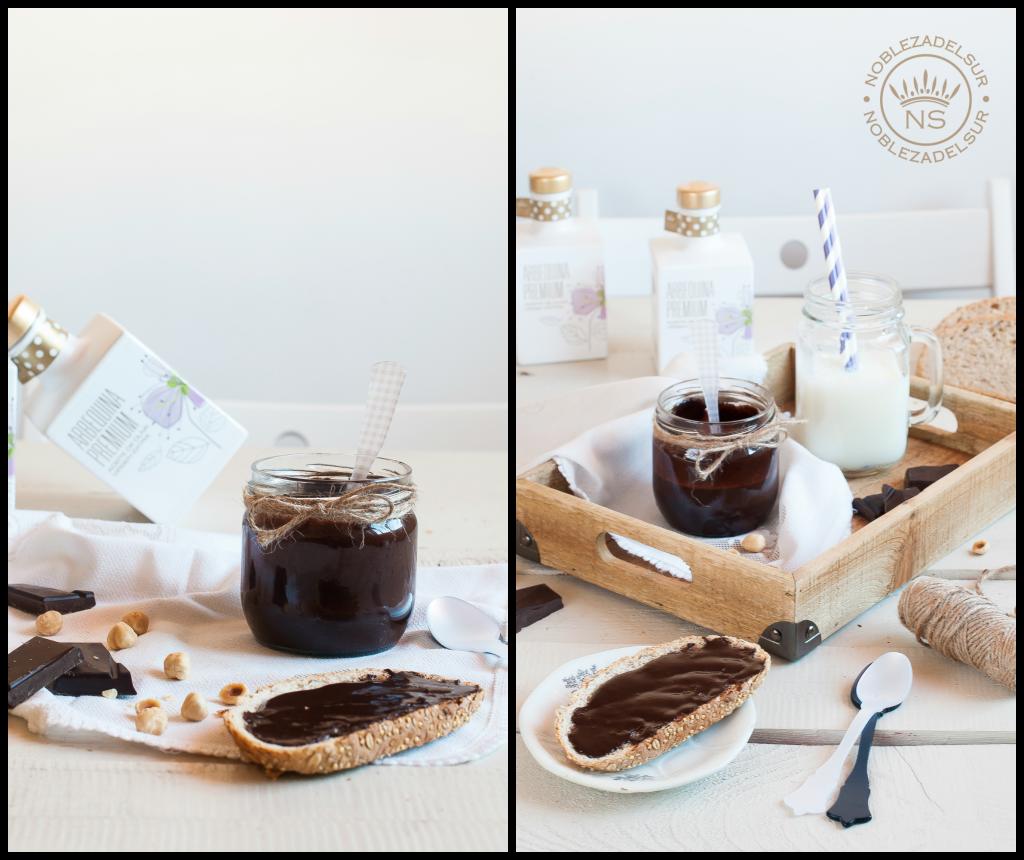 Receta de Nutella con AOVE NOBLEZA DEL SUR