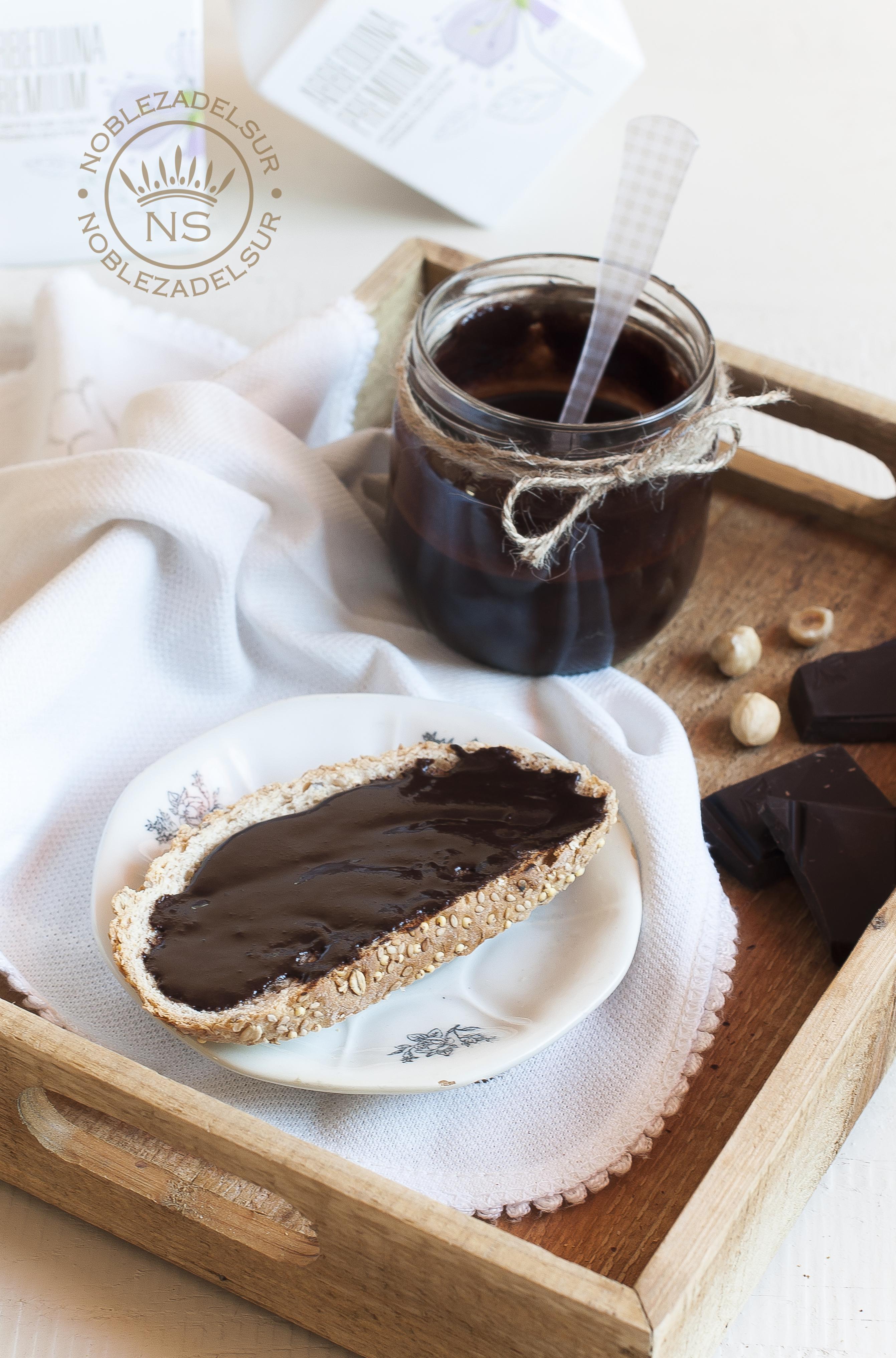 Crema de cacao con aceite de oliva