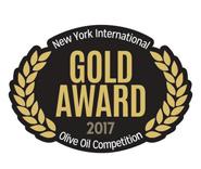 NYIOOC 2017, GOLD MEDAL FOR CENTENARIUM PREMIUM