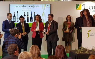 Nobleza del Sur recibe en Fitur el reconocimiento 'Jaén Selección 2018'