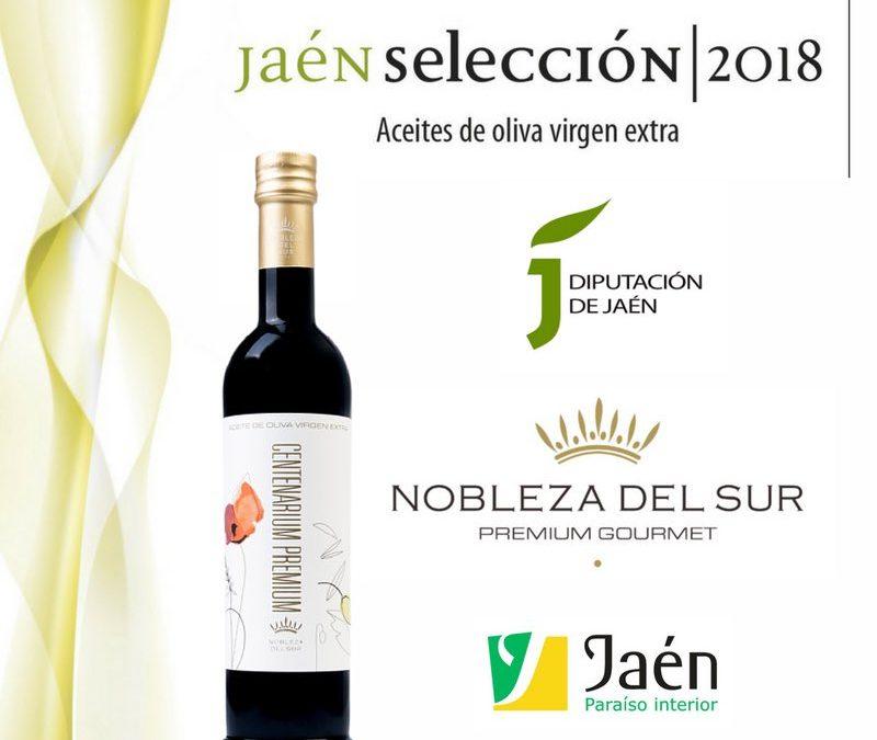 Nobleza del Sur obtiene el distintivo 'Jaén Selección 2018'
