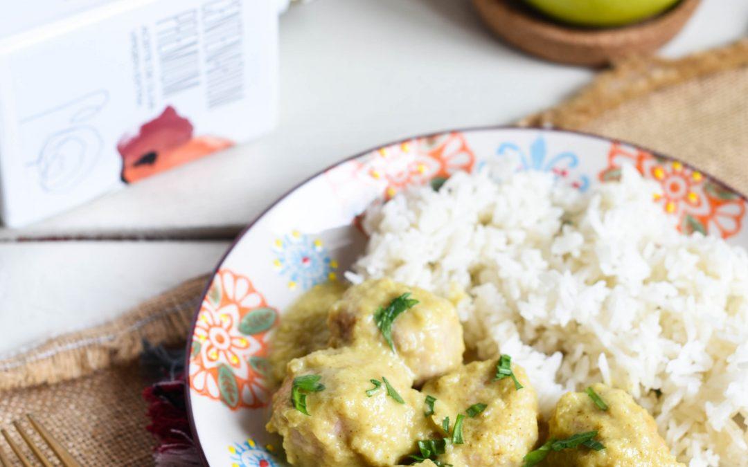 Albóndigas de pavo con curry KORMA