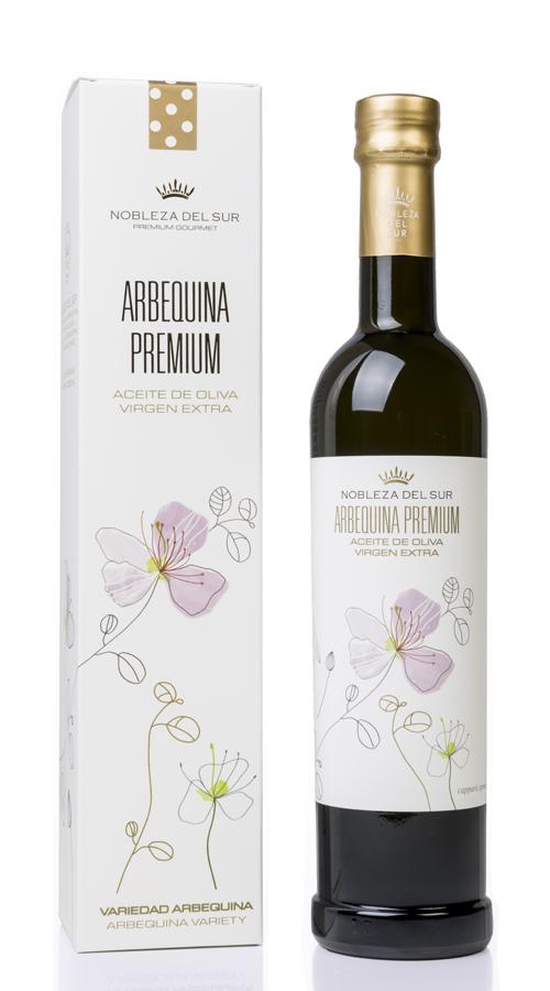 ESTUCHE ARBEQUINA PREMIUM 500 ml
