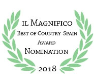 IL MAGNIFICO 2018 – NOMINATION BEST OF COUNTRY SPAIN AWARD 2018