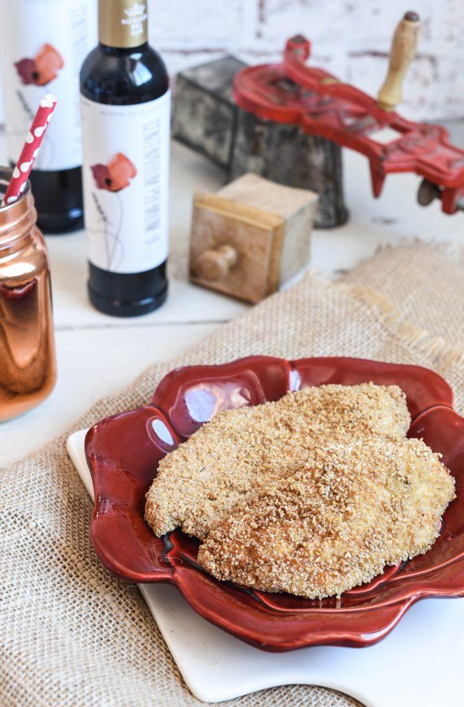 Filetes empanados con avena y AOVE de Nobleza del Sur